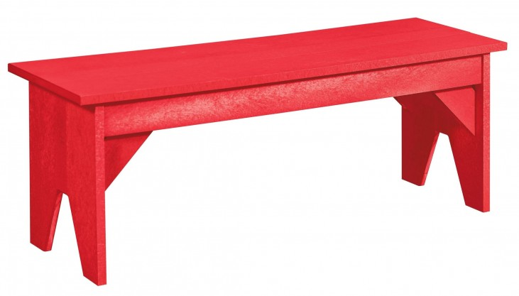 Generations Red Lifestyle Outdoor Bench