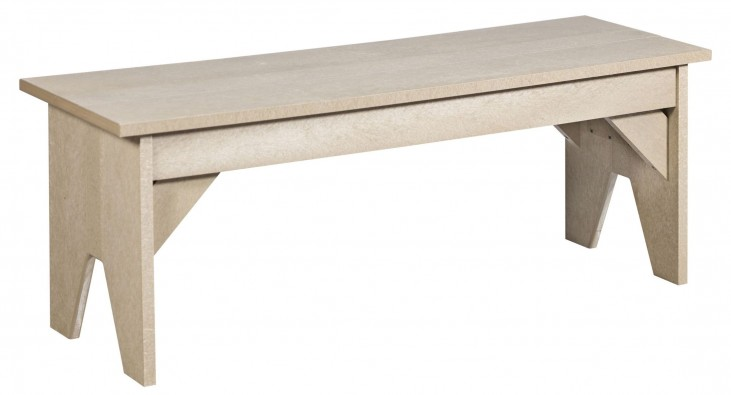 Generations Beige Lifestyle Outdoor Bench