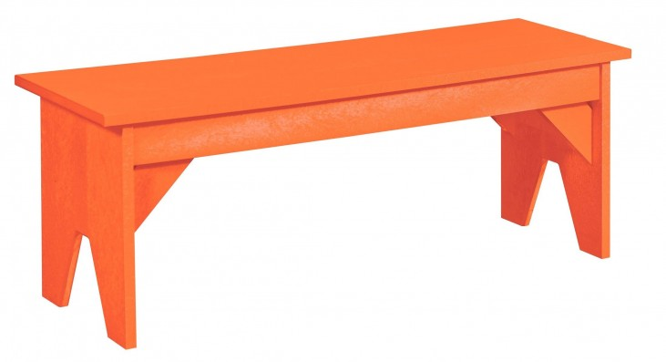 Generations Orange Lifestyle Outdoor Bench