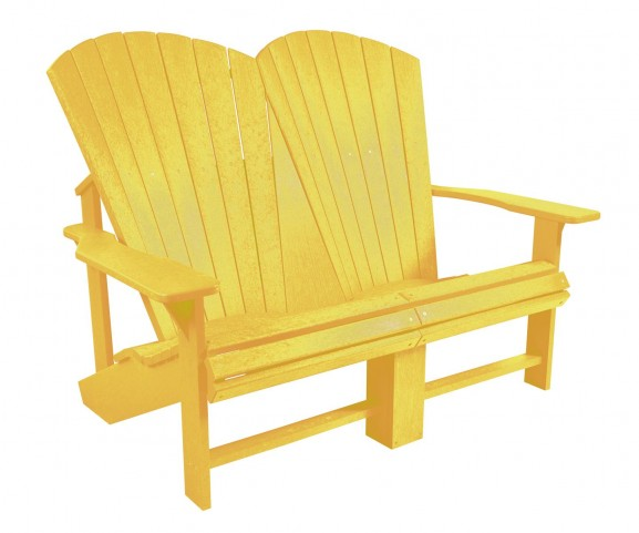 Generations Yellow Addy Loveseat