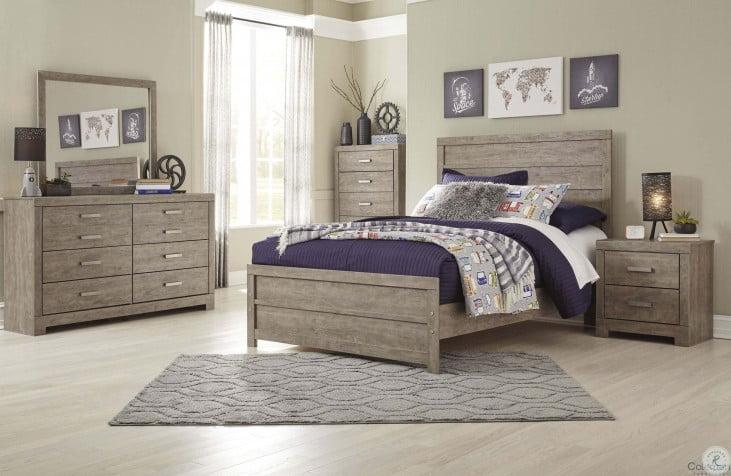 Culverbach Gray Youth Panel Bedroom Set