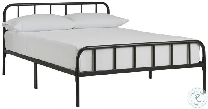 Trentlore Black Full Platform Bed