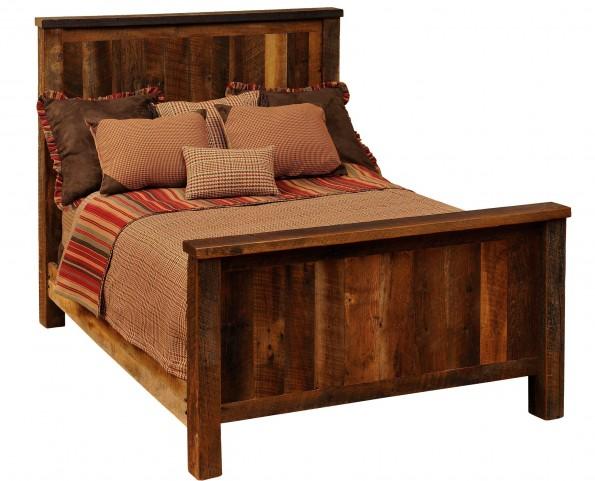 Barnwood Twin Bed