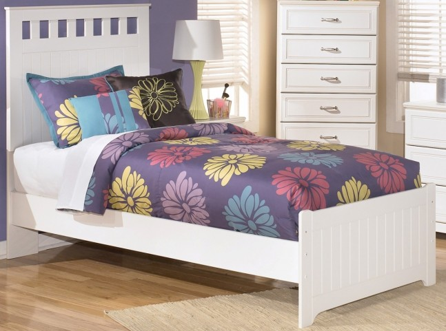Lulu Youth Twin Panel Bed