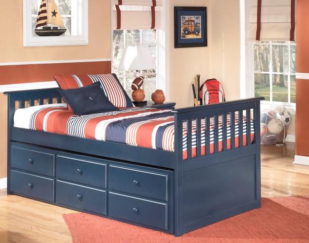 Leo Twin Trundle Storage Bed