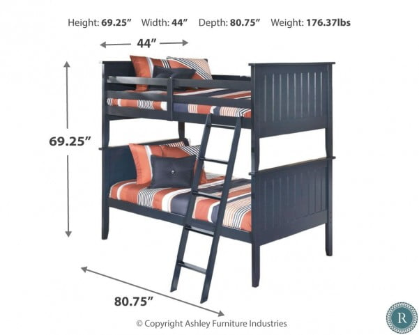 Leo Bunk Bed From Ashley B103 59p 59r 59s Coleman Furniture