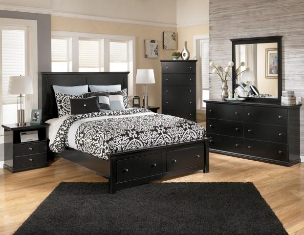 Maribel Panel Storage Bedroom Set