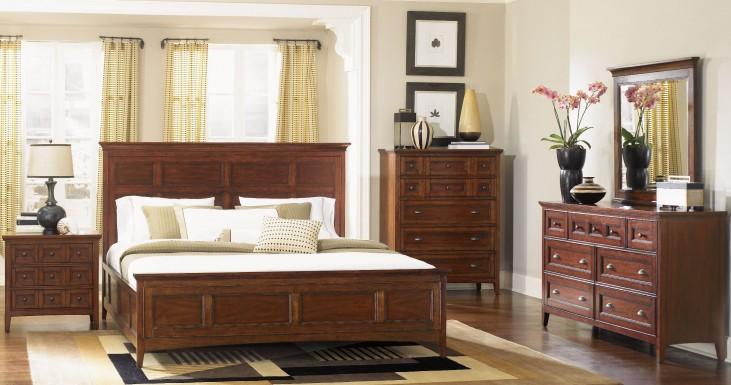 Harrison Panel Storage Bedroom Set