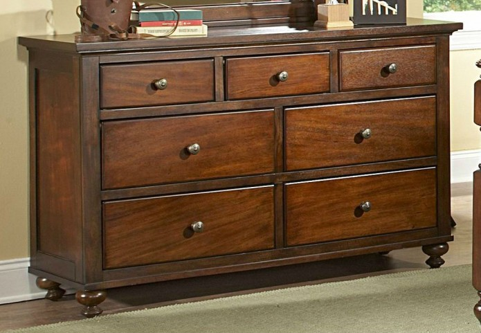 Aris Warm Brown Cherry Dresser