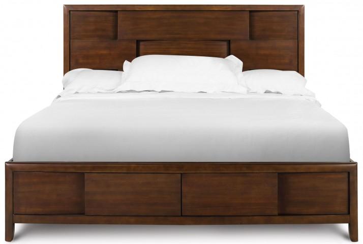 Nova Cal King Island Bed with Regular Footboard