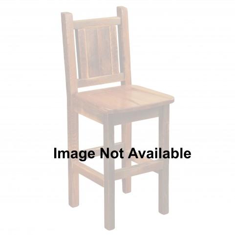 """Barnwood Artisan 24"""" Upholstered Counter Stool"""