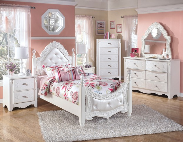 Exquisite Poster Bedroom Set From Ashley Asl B188 71 82n
