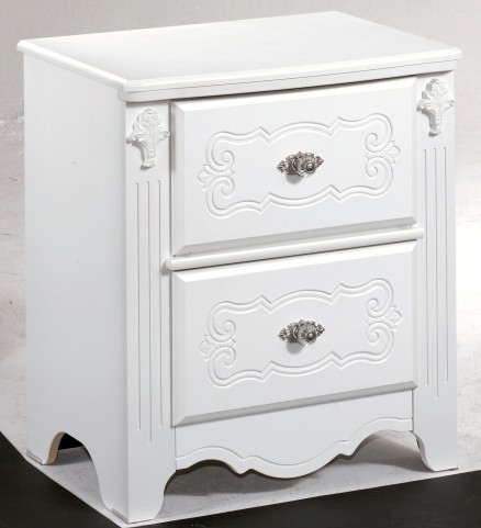 Exquisite Two Drawer Nightstand