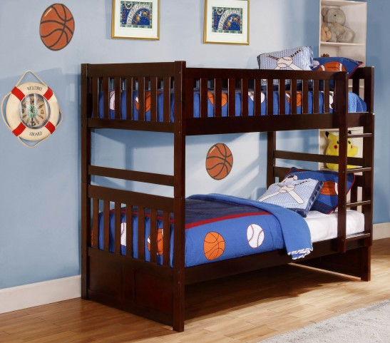 Rowe Twin Over Twin Bunk Bed