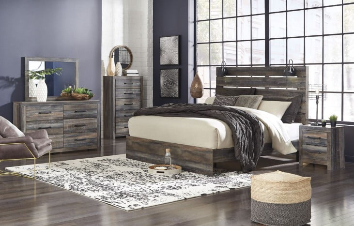 Drystan Multi Panel Bedroom Set From Ashley Coleman Furniture