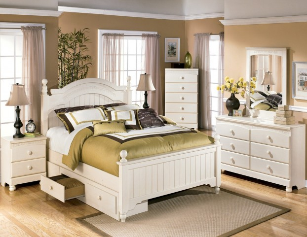 Cottage Retreat Youth Poster Storage Bedroom Set From Ashley Coleman Furniture