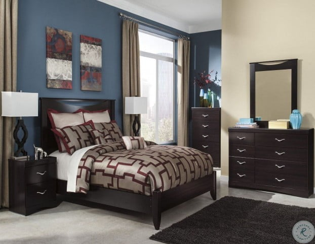 Zanbury Platform Bedroom Set From Ashley B217 57 54