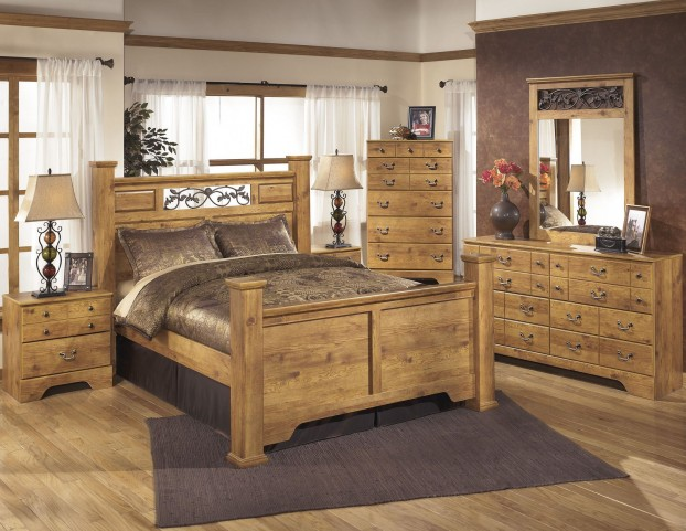 Bittersweet Poster Bedroom Set From Ashley B219 77 Coleman Furniture