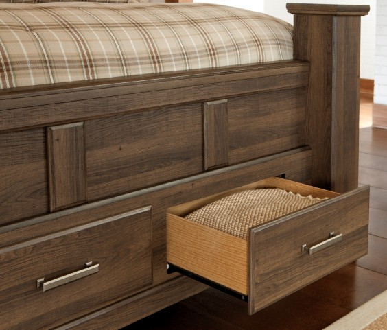 Juararo King Poster Storage Bed From Ashley B251 68 66s 70 99 Coleman Furniture