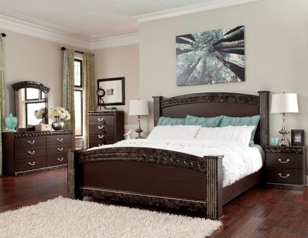 Vachel Poster Bedroom Set