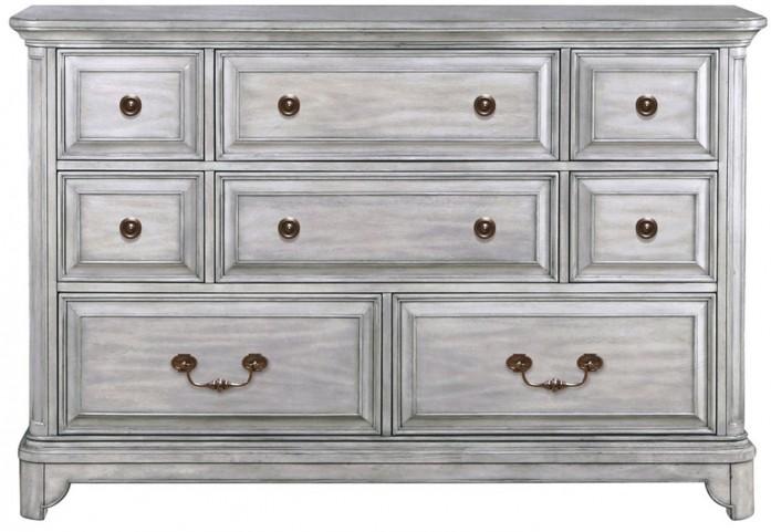 Windsor Lane Weathered Grey Wood Drawer Dresser