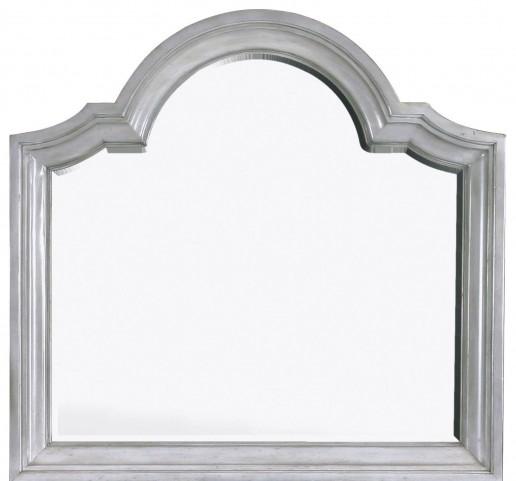 Windsor Lane Weathered Grey Wood Landscape Mirror
