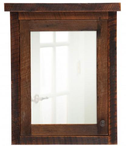 Barnwood Left Hinged Large Medicine Cabinet