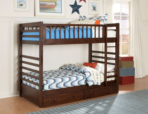 Dreamland Twin Over Twin Bunk Bed