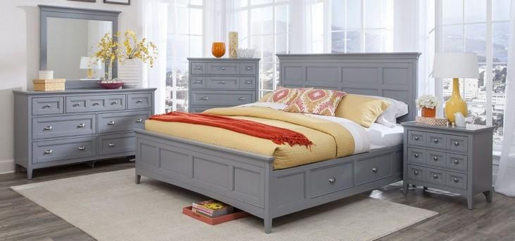 Graylyn Steel Drum Panel Storage Bedroom Set