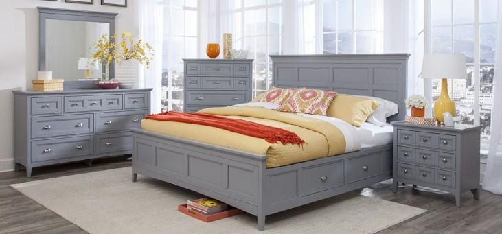 Graylyn Steel Drum Panel Bedroom Set