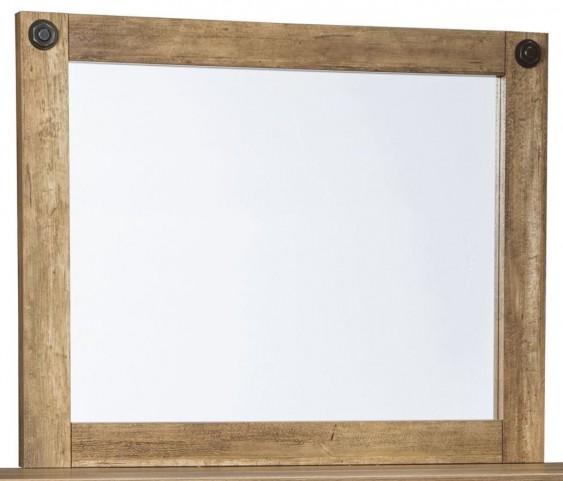 Ladimier Golden Brown Bedroom Mirror