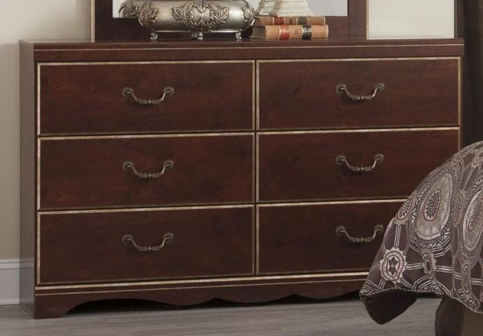 Chanlyn Reddish Brown Dresser