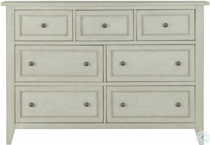 Raelynn Weathered White Drawer Dresser