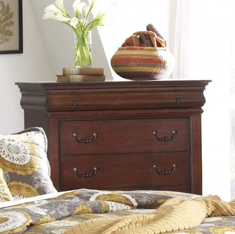 Chateau Vintage Cherry 6 Drawer Chest