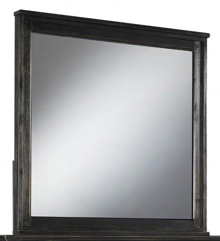 Jaysom Black Bedroom Mirror