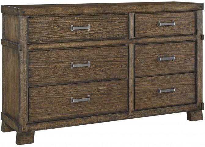 Leystone Dark Brown Dresser