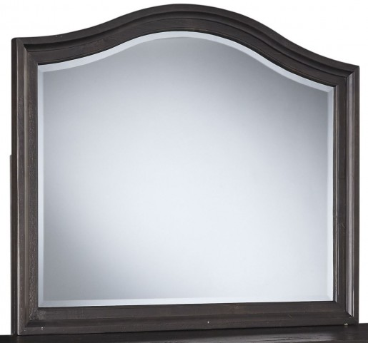 Sharlowe Charcoal Bedroom Mirror