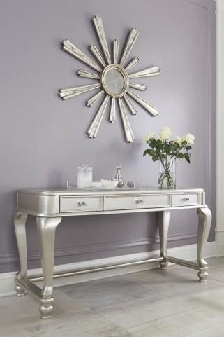 Coralayne Silver 3 Drawer Vanity