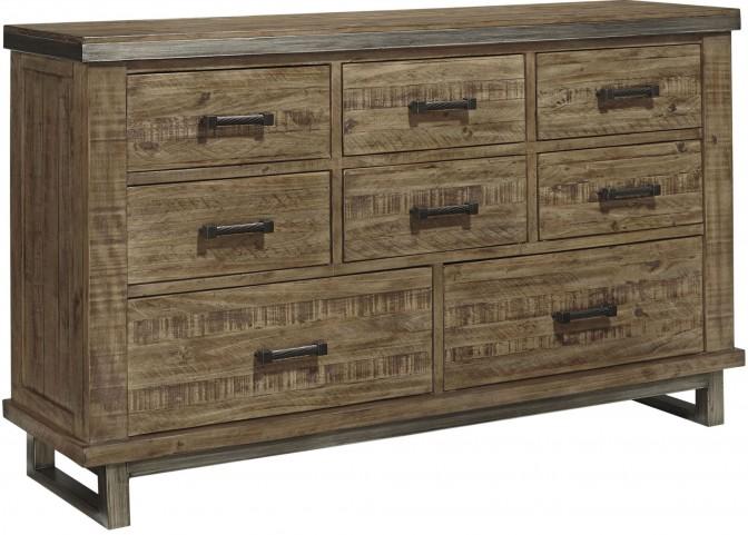 Dondie Warm Brown Dresser