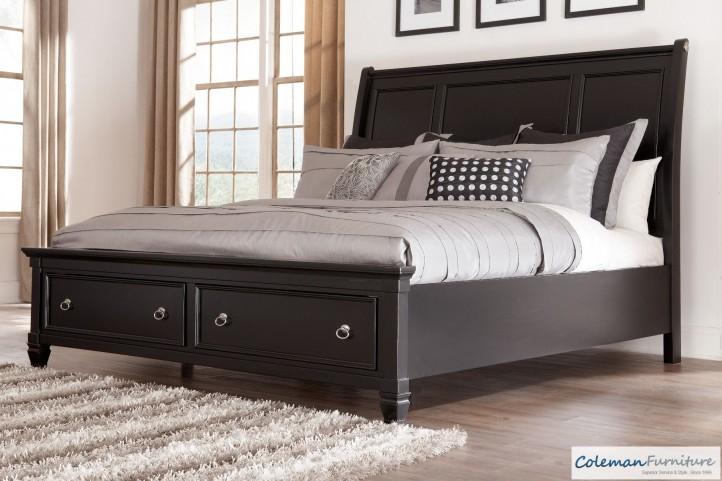 Greensburg Queen Storage Sleigh Bed