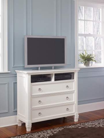 Prentice Media Chest From Ashley B672 39 Coleman Furniture