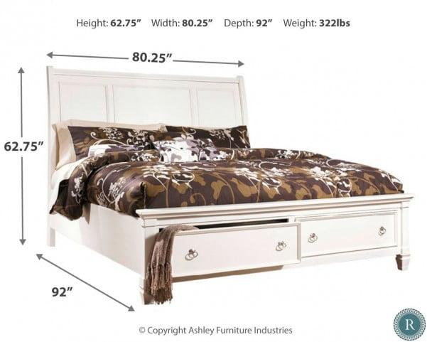 Prentice Storage Sleigh Bedroom Set