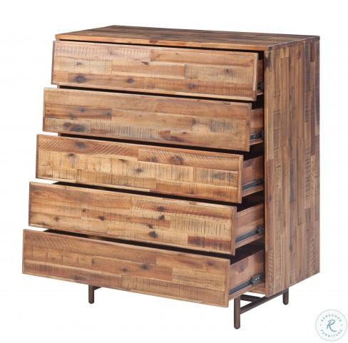Bushwick Brown Wooden Chest
