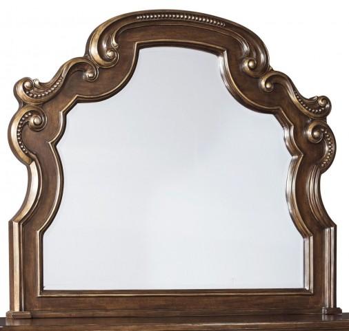 Florentown Dark Brown Bedroom Mirror