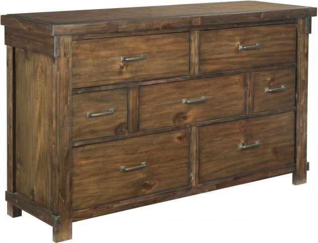 Lakeleigh Dark Brown Dresser