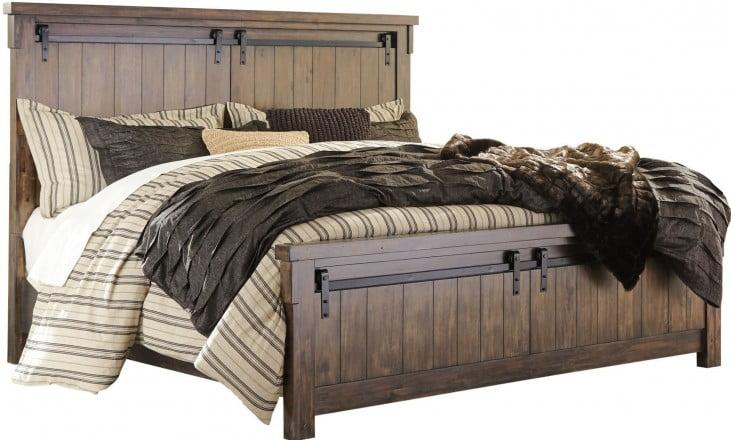 Lakeleigh Brown Cal. King Panel Bed