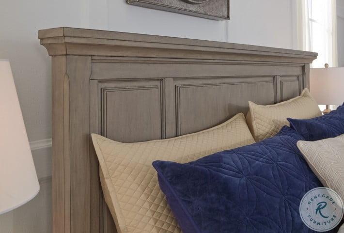 Lettner Light Gray Queen Storage Panel Bed