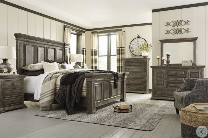 Wyndahl Brown Panel Bedroom Set From Ashley Coleman Furniture