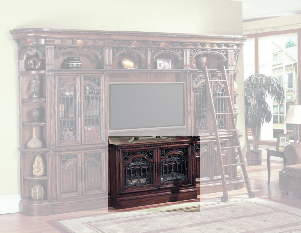 """Barcelona 60"""" TV Console with Ipod Dock"""