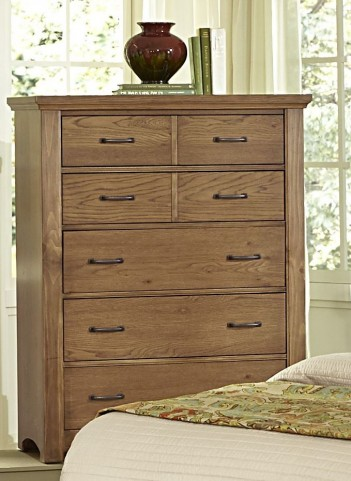 Transitions Dark Oak 5 Drawer Chest
